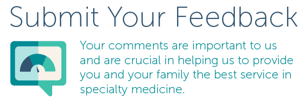 The Oregon Clinic Feedback Form