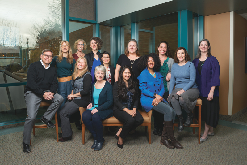The Oregon Clinic Obstetrics, Gynecology & Midwifery East Group Photo