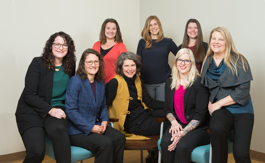 The Oregon Clinic Obstetrics & Gynecology North Group Photo
