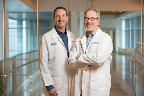 Dr. Hansen and Dr. Bader at The Oregon Clinic