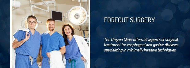 The Oregon Clinic - Esophageal & Foregut Surgery - Portland, Oregon