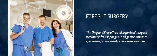 The Oregon Clinic - Esophageal & Foregut Surgery - Portland, Oregon